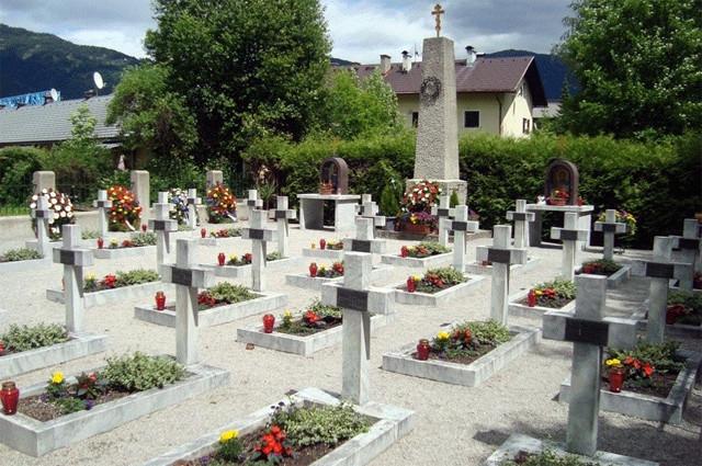 Кладбище казаков в Лиенце. Коллаборационисты и их участь