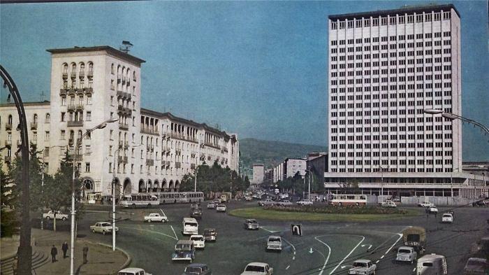 Советский солнечный Тбилиси./Фото: img-fotki.yandex.ru