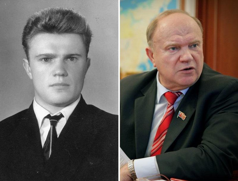 Геннадий Зюганов. Политики в молодости: вот как они выглядели (фото)