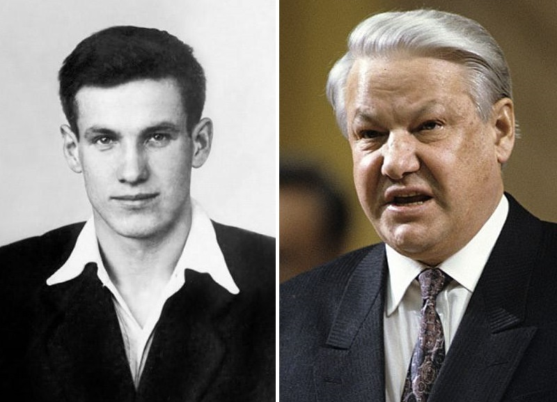 Политики в молодости: Борис Ельцин. Фото