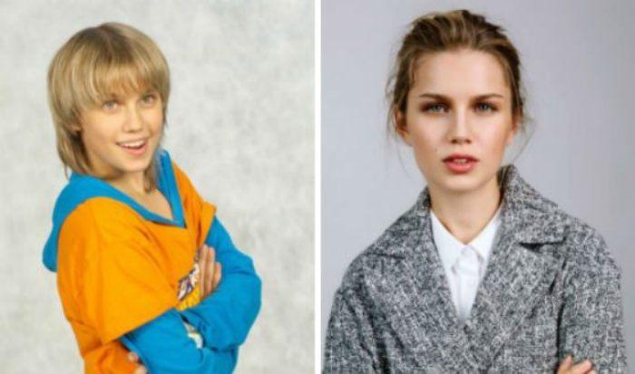 Очень изменилась со временем актриса Дарья Мельникова (внучка Михаила Кокшенова)