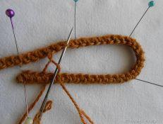 Создаем жилет в технике шнуркового кружева