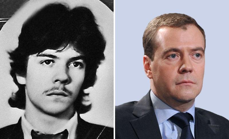 Дмитрий Медведев. Политики в молодости: вот как они выглядели (фото)