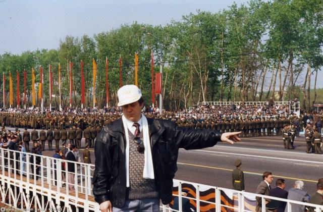 Прогулка по Москве 1995 года 90-е, москва, фотографии