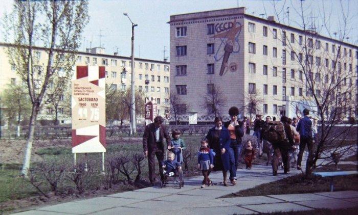 Город Припять до Чернобыльской катастрофы. / Фото: www.ucrazy.ru