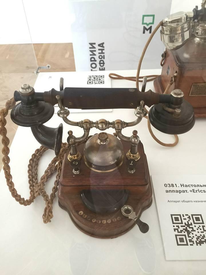 6. Настольный телефонный аппарат Ericsson, 1906 год. история, музеи, телефоны