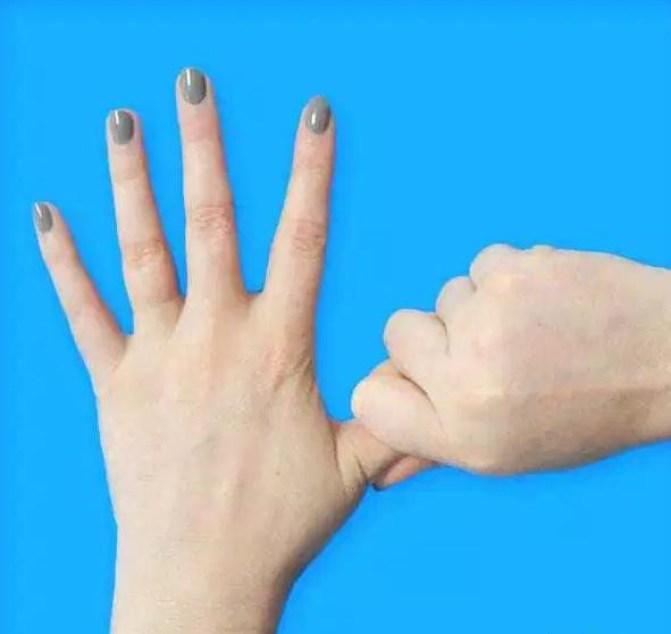 Большой палец: тревога и головные боли палец, факты