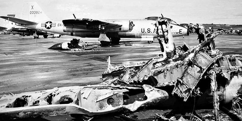 Повреждённые самолёты война, история, факты