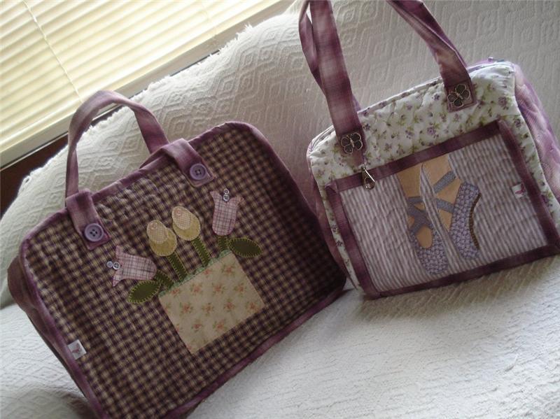 Очень много идей для сумочек из лоскутков!!!