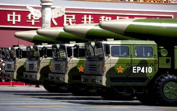 Пекин готовится к войне с США. В буквальном смысле