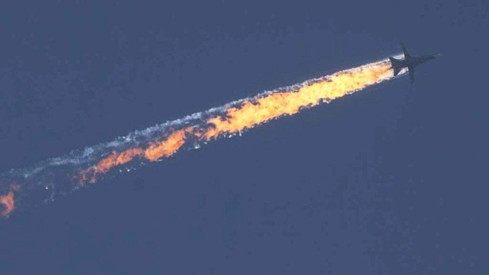 Отряд «сирийской оппозиции» сообщил о расстреле пилотов Су-24