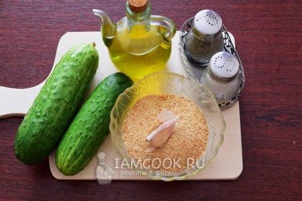 Ингредиенты для жареных огурцов от Пугачевой