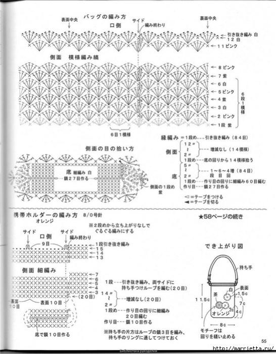 Корзинка и сумки крючком из полиэтиленовых пакетов (51) (546x700, 264Kb)