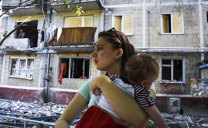 Киев не откажется от обстрела детей и стариков Донбасса
