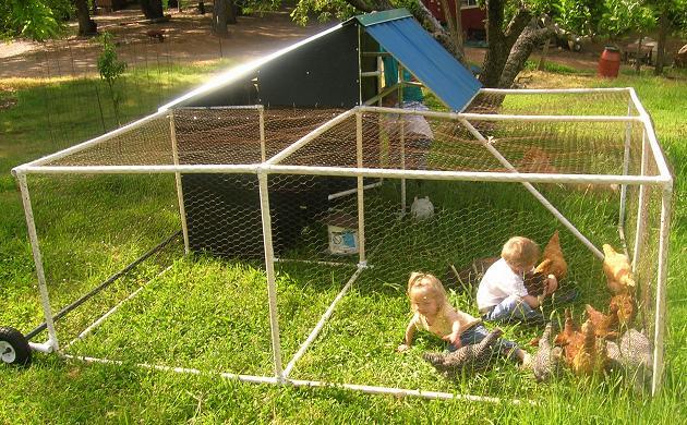 Ограждение для места, где играют дети.