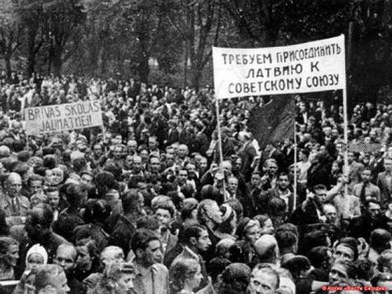 Почему Прибалтика с радостью встретила советскую власть?