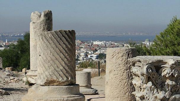 Раскопки на холме Бирса в Карфагене (фото)