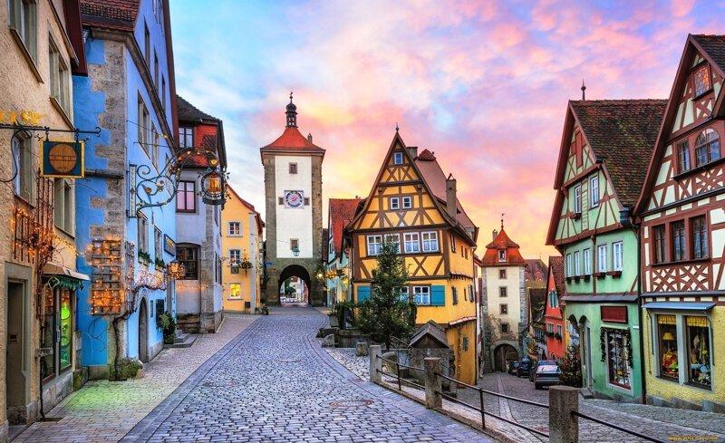 6. Германия порядок и чистота, путешествия, страны, факты