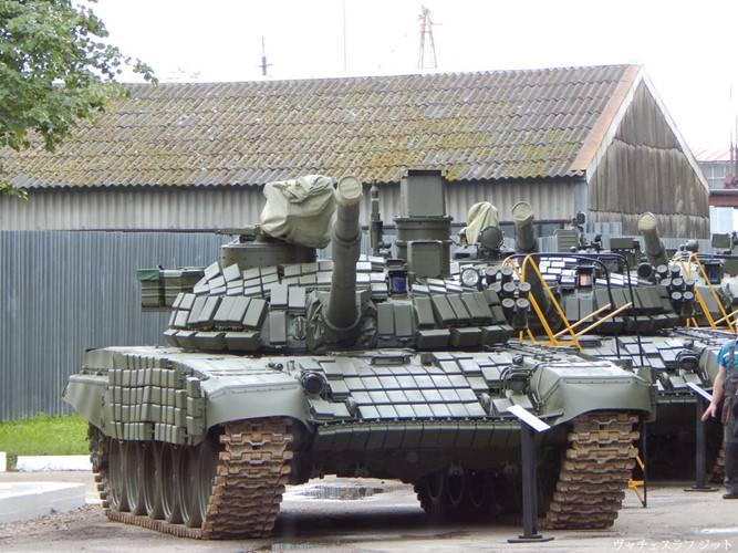В США проанализировали потенциал Т-72