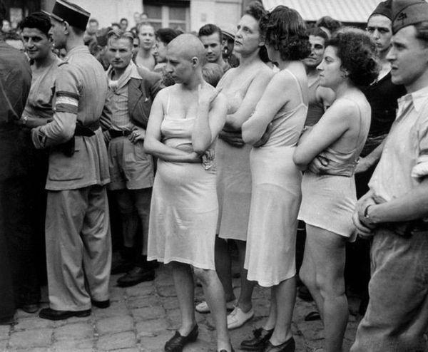 Зверства фашистов над русскими женщинами