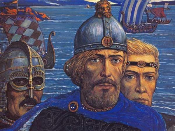 Скандинавы и русский каганат,