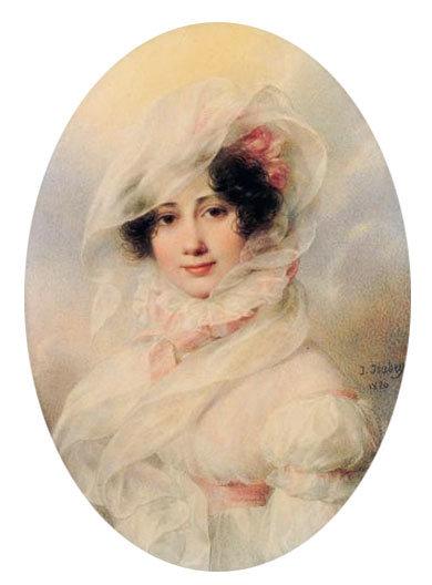 Ж. Изабе. Предполагаемый портрет Екатерины Багратион