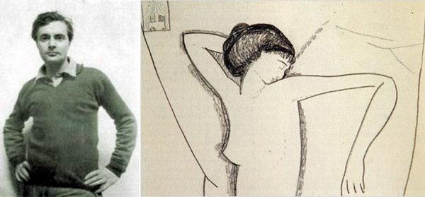 Амедео Модильяни и созданный им портрет Анны Ахматовой