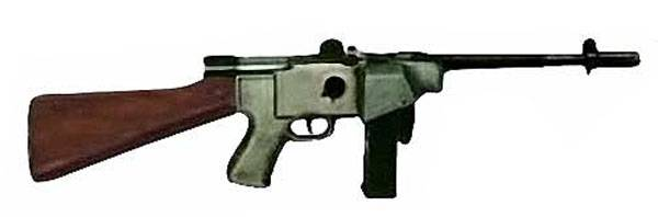 Пистолет-пулемёт HAFDASA C-4 (Аргентина)