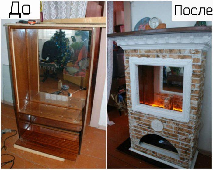 Интересные идеи переделки старой мебели