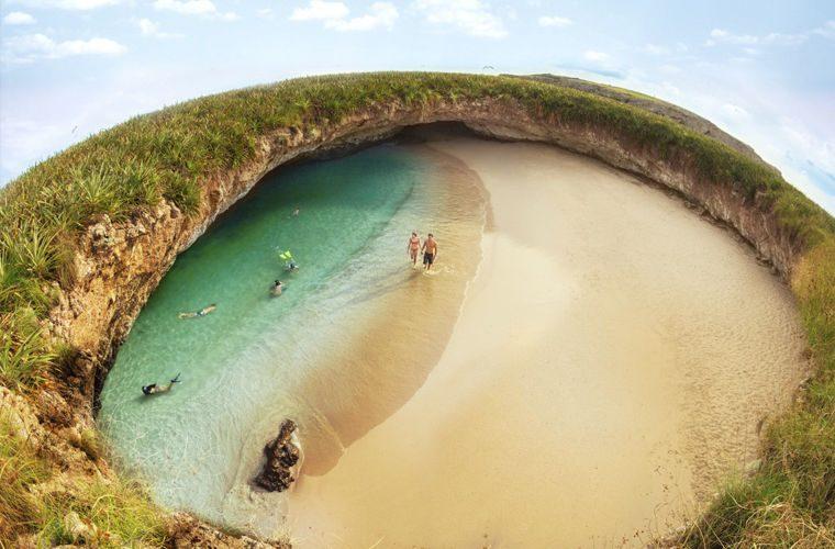 Пляж - фото самых красивых и необычных пляжей в мире