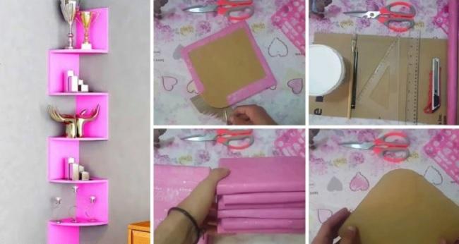 Мастер класс: как из самых простых материалов обновить интерьер вашей комнаты