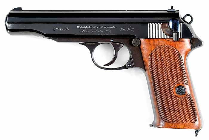 Его узнает каждый. Плохой хороший Walther P.38