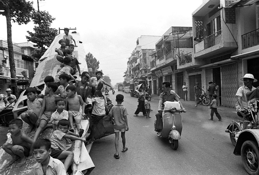Уличная сцена. июль 1975