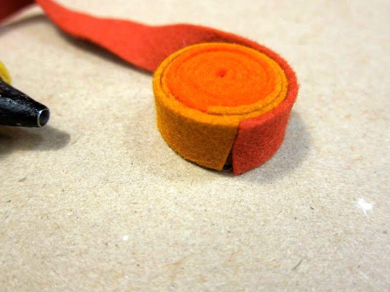 мастер-класс как сделать ковер из фетра своими руками