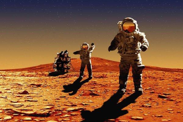 Марс: занимательные факты о красной планете, которые вас удивят