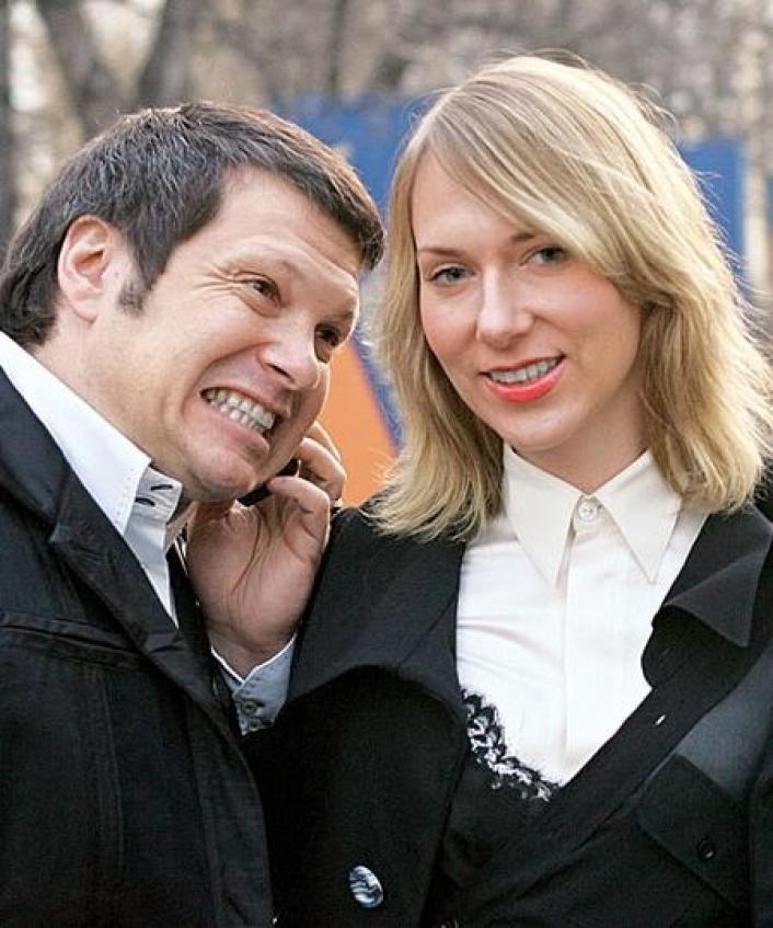 Жена Владимира Соловьева Эльга Сэпп. Фото