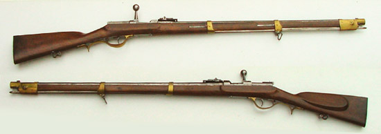Игольчатая винтовка Франца фон Дрейзе