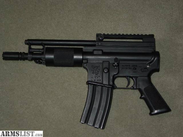 Конструкторы против законов. Самозарядный пистолет Olympic Arms OA-96