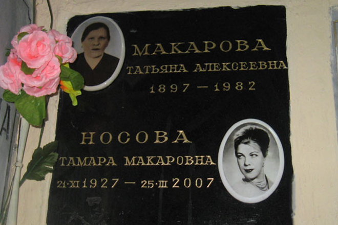 Тамара Носова: королева комедии