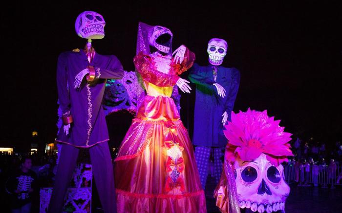 День мертвых – Санта Муэрте (Святая Смерть)– Мексика