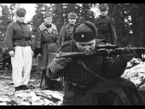 Интересная история из жизни снайпера