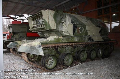 """Уникальный советский """"лазерный танк"""""""