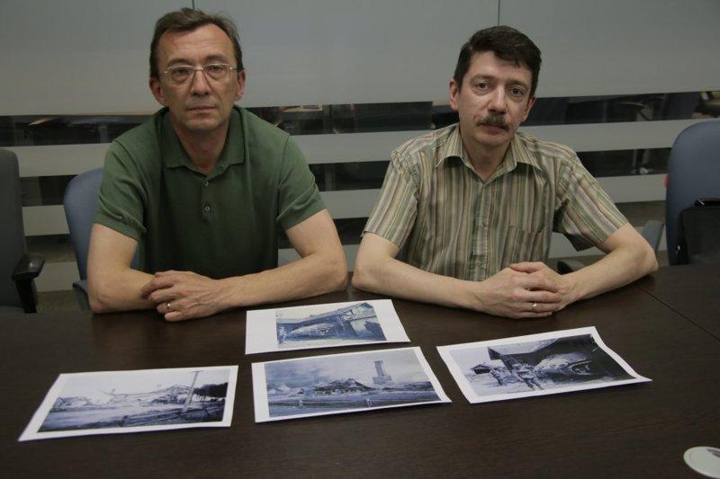 Андрей Карпов (слева) и Денис Колокольчиков. Фото: Сергей Шахиджанян СССР, война, история