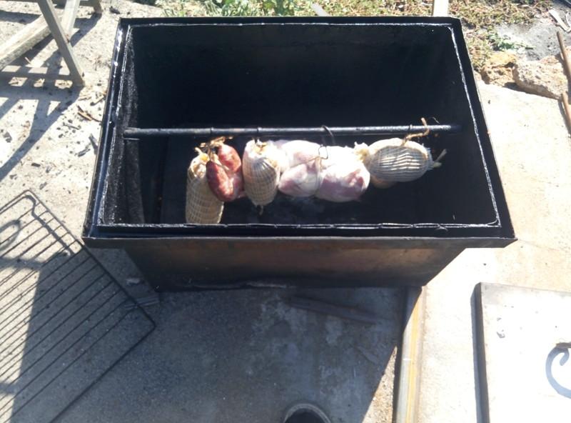 Колбаса домашняя из курицы еда, сделай сам