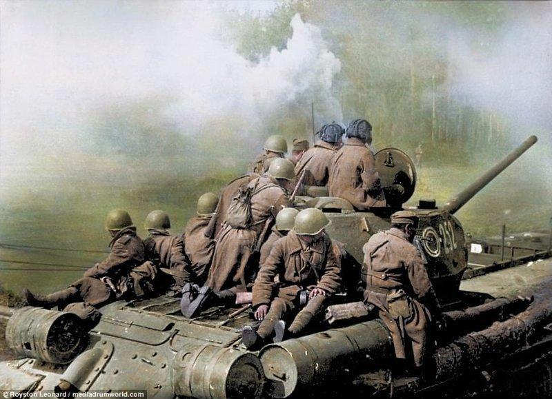 Сталинградская битва (фото). Цветные фотографии Сталинградской битвы (1942-1943)