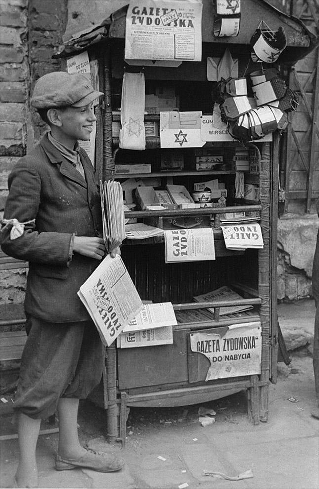 Варшавское гетто 1941 год. Фото