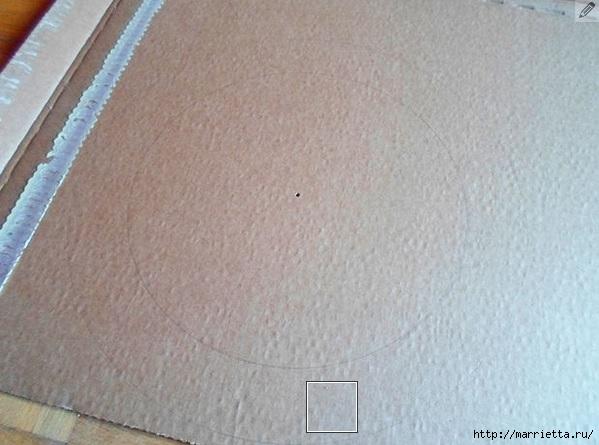 Кошкин домик из картона. Мастер-класс (1) (599x445, 144Kb)