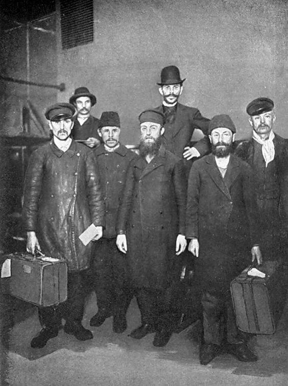 Еще господа из Российской империи, 1900 год америка, иммигранты, исторические фото, история, остров Эллис, факты
