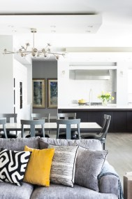 open concept family room kitchn