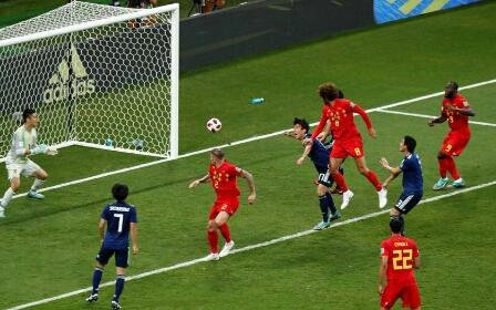 بلجيكا تغتال حلم اليابان في 21 دقيقة وتتأهل لربع النهائي